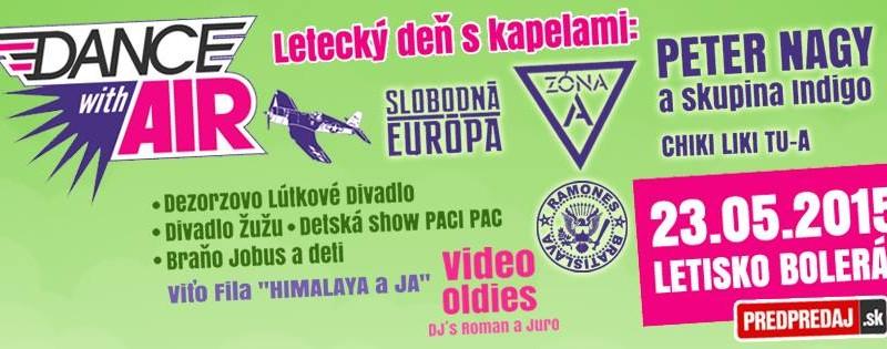 Festival v Boleráze: Na Dance with Air vystúpi aj Slobodná Európa či Peter Nagy